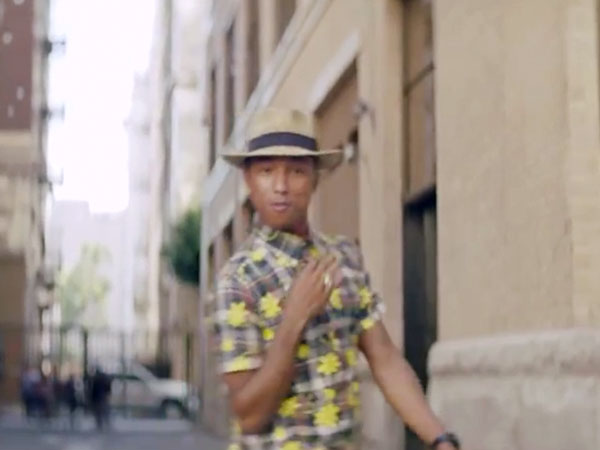 Pharrell & U.N. Team Up for International Day of Happiness