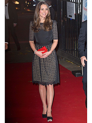 Kate Is Game for a Glam Night Out with British Athletes