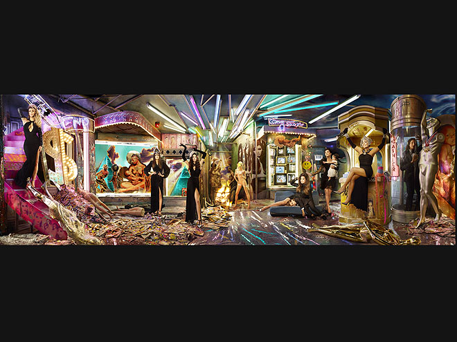 The Kardashians' Very Merry Christmas Cards