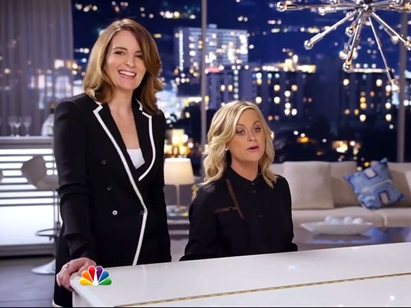 Tina Fey, Amy Poehler Debut Off-Key Golden Globes Musical Promo