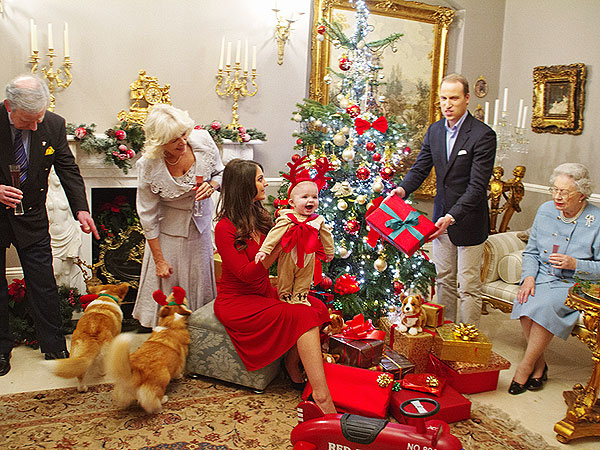 Prince George as a Reindeer! Imagining William & Kate's First Christmas as Parents
