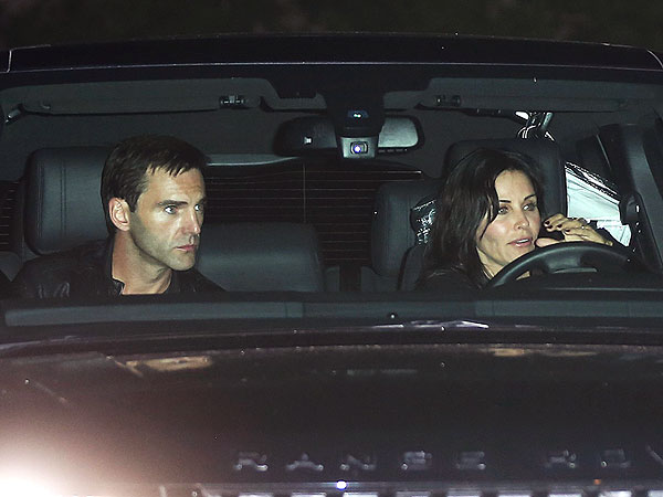 Courteney Cox and Johnny McDaid: New Couple Alert?