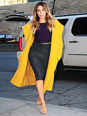 Kim Kardashian: Her Regime for Staying Slim on the Road