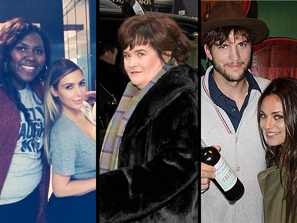 Mila Kunis & Ashton Kutcher Attend Her Brother's Wedding, Susan Boyle Reveals Asperger's Diagnosis