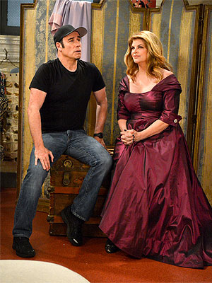 Kirstie Alley and John Travolta Together Again – This Time in Bed