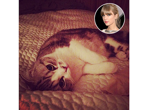 Taylor Swift with Cat Meredith after Grammy Awards 2013