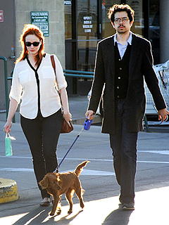 Christina Hendricks: My Dog Has the Same Hair as Me! | Christina Hendricks, Geoffrey Arend