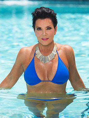Kris Jenner Shares Bikini Photo