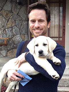 The Daily Treat: Nashville's Charles Esten Brings Home His Onscreen Dog | Stars and Pets, Charles Esten