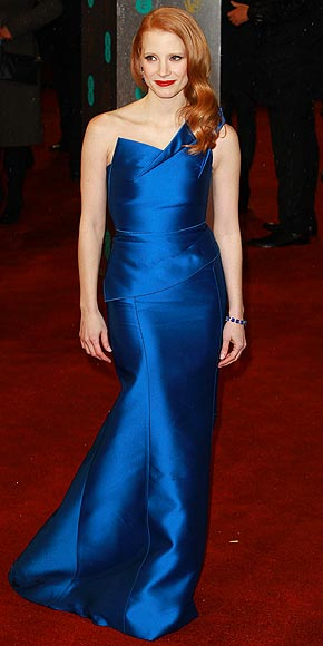 The Best Dressed at the 2013 BAFTA Awards