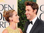 Love on the Globes 2013 Carpet | Emily Blunt, John Krasinski