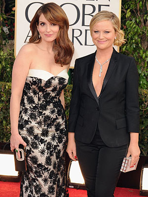 Golden Globes 2013: Tina Fey & Amy Poehler as Hosts - Review
