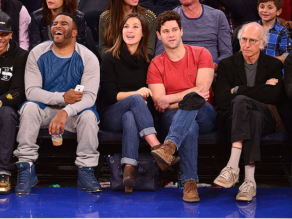 Larry David Displeased at Knicks Game