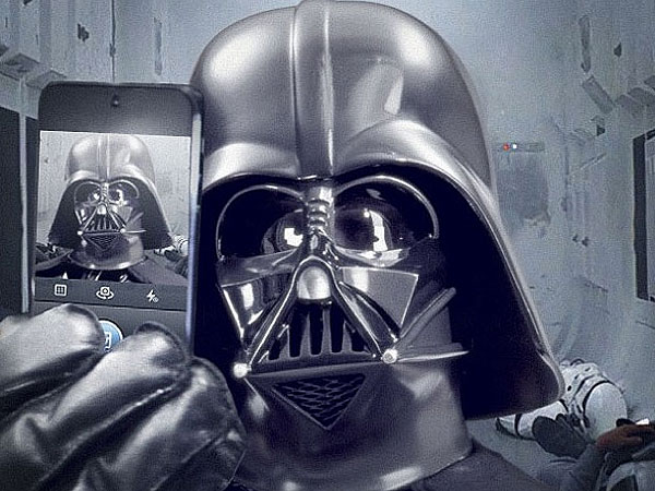 Instagram and Star Wars Join Forces with Darth Vader Selfie