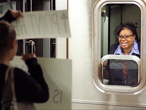 Subway Conductor's Day is Made with Just One Point