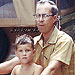 Celebrity Throwback Photos with Dad | James Denton