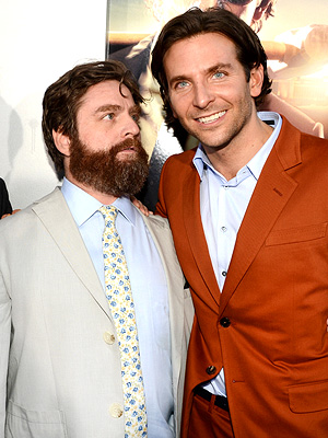 Star Tracks: Here's Lookin' at Bradley | Bradley Cooper, Ed Helms, Zach Galifianakis