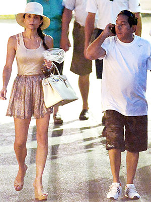 Bethenny Frankel Vacations in Saint-Tropez with Warren Lichtenstein