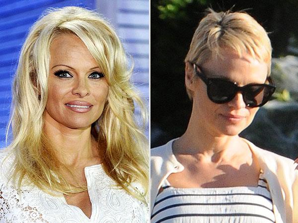 Pamela Anderson's New Pixie Cut Brings Reader Love