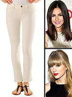 You&#39;ll Live in These Jeans All Summer | Taylor Swift, Victoria Justice