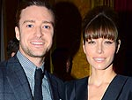 London Fashion Week: Mr. & Mrs. Justin Timberlake Toast Tom Ford | Jessica Biel, Justin Timberlake