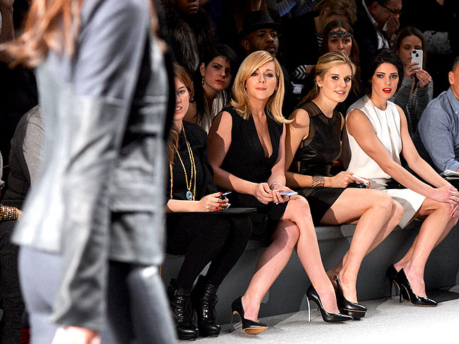 New York Fashion Week: Young Hollywood, Unite!