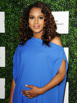 Kerry Washington: How the New Mom Told Friends 'Isabelle Is Here'