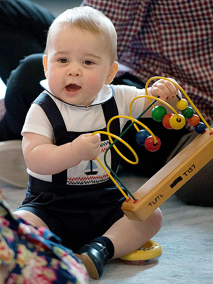 Royal Baby Number 2 Prince George Descends From a Long Line of Cuteness