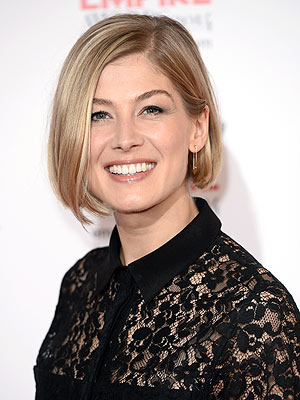 Rosamund Pike Pregnant Expecting Second Child