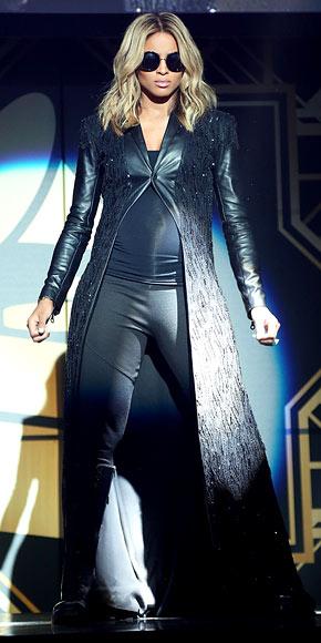 Ciara's Hip & Edgy Bump Style