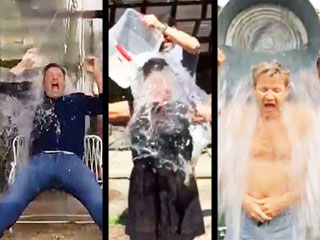 See Rachael Ray, Jamie Oliver, and Other Chefs Get Soaked in Ice Bucket Challenge