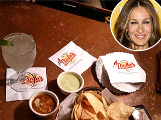 Sarah Jessica Parker Feasts on Tamales and Margaritas in Houston