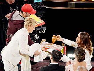 Ellen DeGeneres's Oscars Delivery Guy Opens Pizza Place, Names Pie in Her Honor