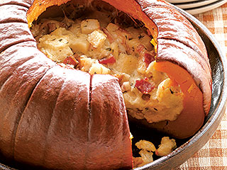 The Name Says It All: Make a 'Pumpkin Stuffed with Everything Good'