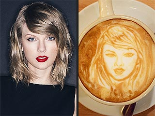 Celebri-lattes! Amazing Coffee Art of Taylor Swift, Nick Jonas & Other Stars