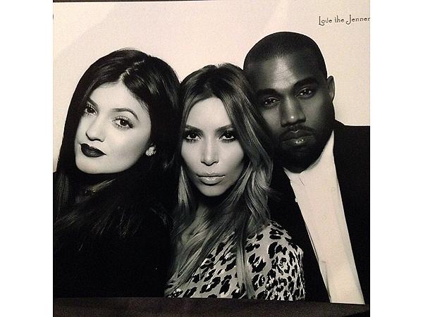 Kim Kardashian Had a Very Busy Christmas Eve