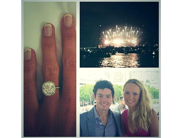 Rory McIlroy and Caroline Wozniacki Are Engaged