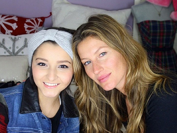 Gisele Bündchen Surprises Teen with Cancer with a Special Visit