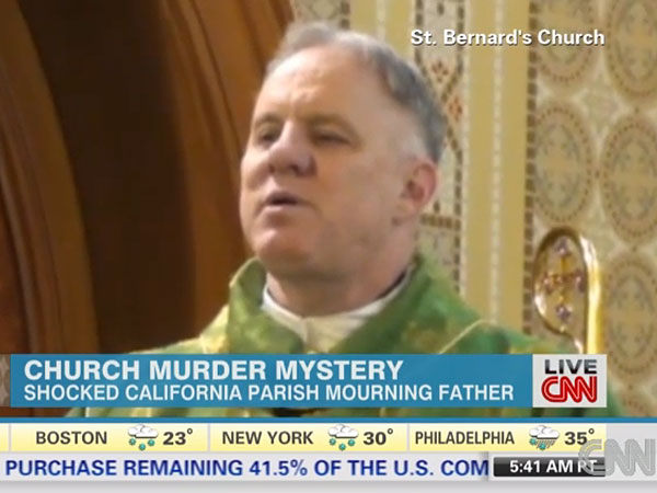 Popular California Priest Murdered in Church Rectory