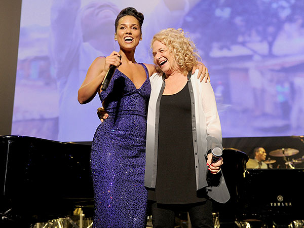Alicia Keys: Carole King Almost Makes Me Faint