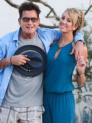 Charlie Sheen Engaged to Brett Rossi
