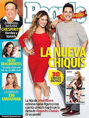 Jenni Rivera's Daughter Chiquis Sheds 30 Lbs. in Eight Weeks