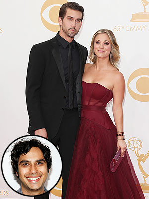 Kunal Nayyar: Ryan Sweeting Will 'Take Great Care' of Kaley Cuoco