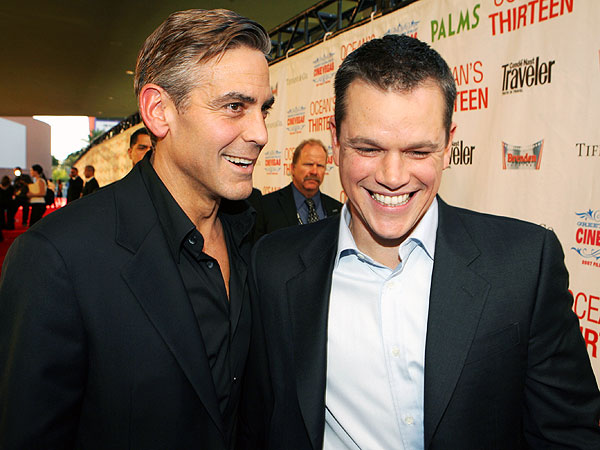 George Clooney Hilariously Pranks Matt Damon Into Thinking He's Gaining Weight