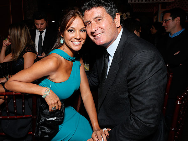 Eva LaRue and husband
