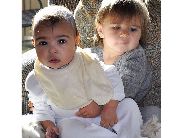 Kim Kardashian Posts Pic of 'BFFs' North West and Penelope Disick