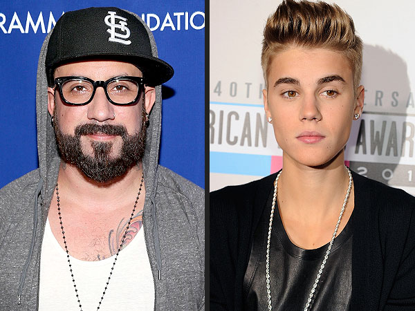 A.J. McLean: I'd Like to Take Justin Bieber Under My Wing