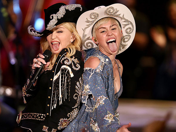 Madonna & Miley Cyrus: Behind the Scenes at Unplugged