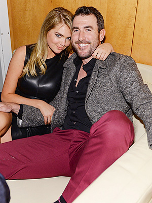 Kate Upton Cozies Up to Detroit Tigers Star Justin Verlander