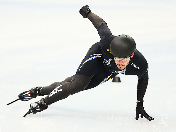 Sochi Winter Olympics 2014: Eddy Alvarez Compares Speed Skating to NASCAR